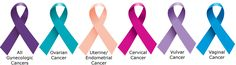 vulva cancer ribbons | Types of Gynecologic Cancers | F4WCF4WC