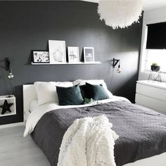 Bedroom Design Ideas Budget Grey And White Bedroom Ideas 2020 # White Bedroom, Master Bedroom, Bedroom Wall, Master Suite, Modern Bedroom Decor, Design Bedroom, Awesome Bedrooms, Minimalist Bedroom, New Room
