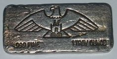 Historic Old Pour **Montana Eagle** 1oz .999 Silver Bar