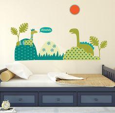 Dinosaur Wall Decals Wall Decals Nursery By BebeDivaBoutique - Dinosaur wall decals nursery