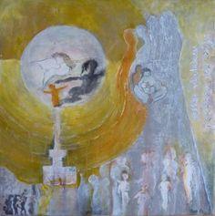 Ine van den Heuvel, 'Tekenen van 'Zijn', mixed media