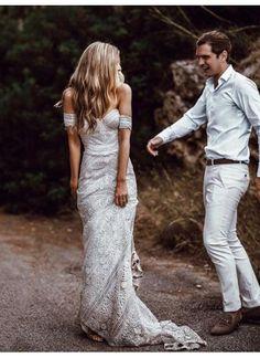 7d769736fb Customized Great Ivory Wedding Dresses, Lace Wedding Dresses