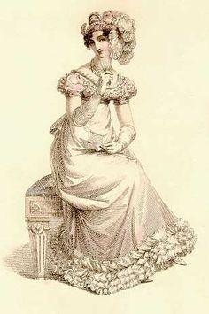 1817-1822 skirt trim & turban