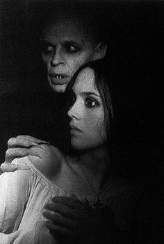 The equally good Claus Kinski & Isabelle Adjani in the 1979 version of 'Nosferatu@