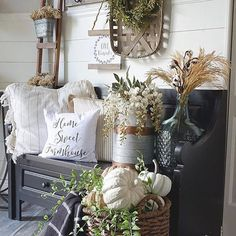 Love seeing how you layer decor to create the most beautiful vignettes! : @ourrusticparadise