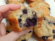 Review: I would only give them one other try because I left out the vanilla the first time. But I wasn't really impressed. Blueberry lemon banana yogurt muffins – Drizzle Me Skinny!