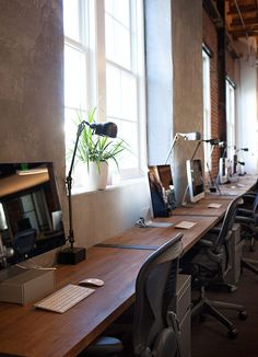 9 Simple and Impressive Tips and Tricks: Industrial Desk Plans industrial office space. Regal Industrial, Industrial Office, Industrial House, Industrial Interiors, Industrial Chair, Industrial Style, Industrial Bookshelf, Industrial Windows, Industrial Restaurant