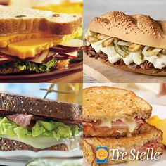 Answer our poll question for your chance to win $50 in Tre Stelle grocery vouchers! Poll Questions, This Or That Questions, Sandwiches, Food, Essen, Meals, Paninis, Yemek, Eten