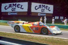 Dyson Racing Porsche 962 of Rob Dyson, Price Cobb. RoadAmerica 1986.