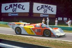 Dyson Racing Porsche 962 of Rob Dyson, Price Cobb. RoadAmerica 1986.