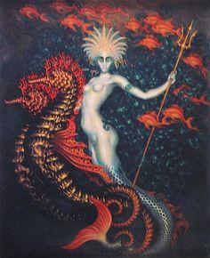 brudesworld:  Amphitrite by Nicholas Kalmakoff, 1927
