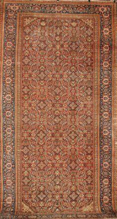 FR2426 Antique Persian Ferehan. Rugs. Home Décor. Color. Persian. Antique Rugs. Farzin Rugs. Dallas, Tx
