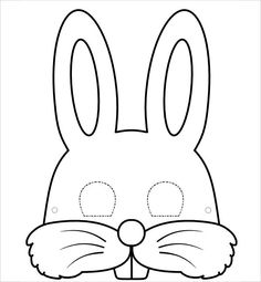 easter bunny mask template mask template bunny mask for kids - Happy Easter Sunday Bunny Crafts, Easter Crafts For Kids, Easter Activities, Preschool Crafts, Bunny Templates, Bunny Ears Template, Printable Masks, Printable Templates, Free Printable