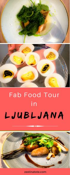 Ljubljana is one of the cutest European cities I have visited. Take this foodwalk to try traditional and modern Slovenian food. #slovenia #ljubljana #foodtour #foodtourljubljana #food #foodwalk