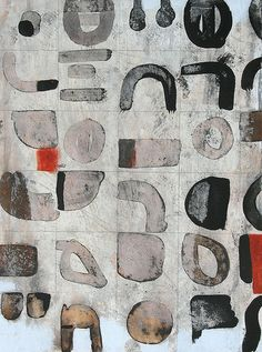 Wash And Dry by Scott Bergey. Scandinavian Wall Decor, Encaustic Art, Wash N Dry, Black And White Abstract, Pop Art, Art Abstrait, Mark Making, Textures Patterns, Art Lessons