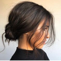 Hairstyles for Women Fall 2019 - Hairstyles # HairstylesFor . - All about Hair - Hair Long Hairstyles, Pretty Hairstyles, Wedding Hairstyles, Messy Bun Hairstyles, Fashion Hairstyles, Holiday Hairstyles, Hairstyles For Short Hair Formal, Upstyles For Short Hair, Retro Hairstyles