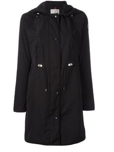 Anthemis Lightweight Raincoat, Dark Blue, Black