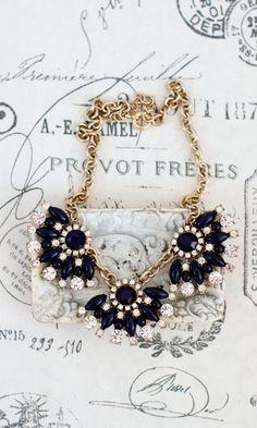 Raven Gold Necklace - Shabby Apple