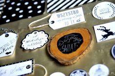 Wesołych Świąt - partymika Wrapping Ideas, Food Art, Wraps, Sugar, Cookies, Desserts, Christmas, Crack Crackers, Tailgate Desserts