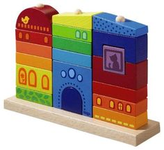 Haba Rainbow House Pegging Game
