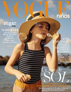 Aroa from Sugar Kids for Vogue Niños by Elena Olay.