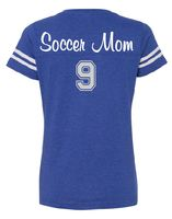 Vintage SOCCER MOM Spirit T-Shirt