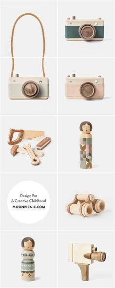 Fanny & Alexander wooden toys | at moonpicnic.com