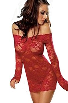 Modes Sexy Women Lady Lingerie Lace Minidress Underwear Sleepwear G String Set *** You can get more details by clicking on the image. Amazon Affiliate Program's Ads.