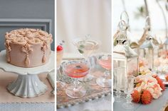 Create a wedding laced in peach. Gorgeous, timeless and classic, here's how to nail the theme.