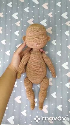 Crochet doll pattern, Amigurumi doll tutorial, Diy crochet doll toy, Crochet toy… Best Picture For Crochet cardigan For Your Taste You are looking for something,. Diy Crochet Doll, Crochet Doll Tutorial, Crochet Dolls Free Patterns, Crochet Doll Dress, Amigurumi Tutorial, Crochet Pattern, Diy Doll, Art Doll Tutorial, Pattern Art