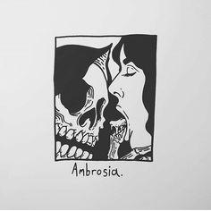 art and sketches Tatuagem Old Scholl, Matt Bailey, Dark Art Tattoo, Death Art, Dark Art Drawings, Skeleton Art, Dark Wallpaper, Gothic Art, Skull Art