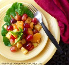 Savory Fall Fruit Salad @ Traditional-Foods.com