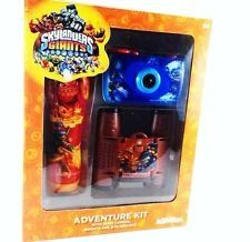 Skylanders Giants 3 Piece Adventure Pack by Sakar. $24.55. 4 x 28 binoculars; flashlight; 35 mm camera. This Skylanders Giants adventure kit includes 3 great items to delight any Skylander fan. Each piece is decorated with your favorite characters. The kit includes a 35mm camera, 4X28 binoculars and a Flashlight.