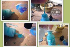 Tip: Cleaning & Storing Vintaj Patina Bottles