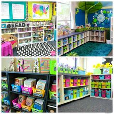 Gorgeous Classroom Libraries - Playdough To Plato Classroom Helpers, Classroom Setup, Classroom Libraries, Future Classroom, Classroom Resources, Reading Nook Kids, Cozy Reading Corners, Classroom Reading Nook, Cozy Library