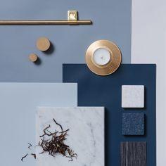 NAVY-värimaailma! Tänä päivänä sininen saa loistaa voimakkaana ja juhlavana keittiön ovissa kultaisen tai messinkisen vetimen tai hanan seurana.