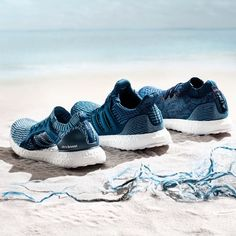 Adidas launches three new trainers made from recycled ocean plastic | The Independent