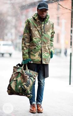 Victor | mens fashion | camouflage