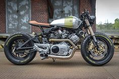 JOLIE LADIE. A Beautiful Yamaha XV920 From Polands Ugly Motors