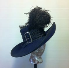 How To Make a Cavalier or Musketeer Hat: Basic Guide Making The Band, Hat Making, Musketeer Costume, Pirate Garb, Steampunk Pirate, Western Hats, Leather Hats, Pirate Woman, Fancy Hats