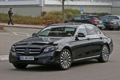 2017 Mercedes-Benz E-Class Spied Nearly Undisguised Will use new family of inline six-cylinder engines. http://www.automobilemag.com/features/news/2017-mercedes-benz-e-class-spied-nearly-undisguised/