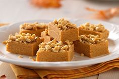 Stir up a nutty treat with our Microwave Peanut Butter Fudge Bites! Butterscotch pudding adds tastiness to these Microwave Peanut Butter Fudge Bites.