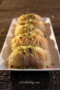Συνταγή: Κανταΐφι παραδοσιακό κι ένα μυστικό για να γίνει ανάρπαστο! ⋆ CookEatUp