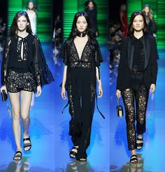 DressCode:HighFashion: Lace Trend S/S 16