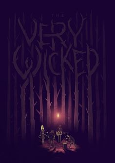 The Very Wicked - Adam Hill / Velcrosuit - Graphic Design & Illustration