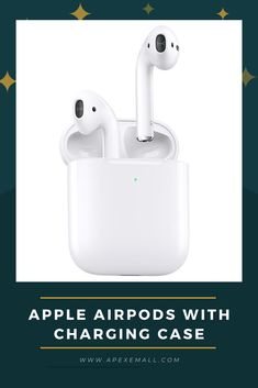 Product details: #AirPods (each): 0.14 ounce, Charging Case: 1.34 ounces. #Dimensions: AirPods (each): 0.65 by 0.71 by 1.59 inches, Charging Case: 1.74 by 0.84 by 2.11 inches. #AirPods Sensors (each): Dual beamforming microphones, Dual optical sensors, Motion-detecting accelerometer, Speech-detecting accelerometer. #Power and Battery: More than 24 hours listening time, up to 18 hours talk time. Price: $139.00 For purchase, Click on img.