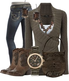 """""""cowboy up"""" by thefarm ❤ ABSOLUTELY love this outfit!!! probably one of my favorites of all time!"""