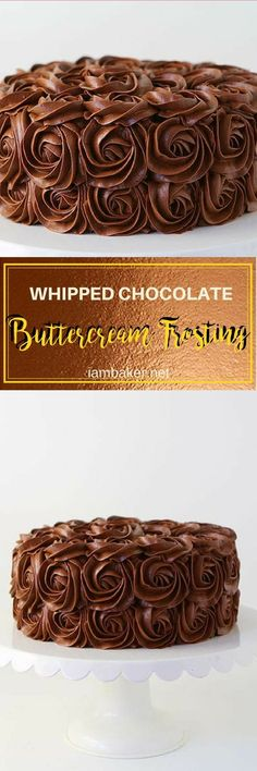 Light, fluffy, rich and flavorful Chocolate Buttercream Frosting!