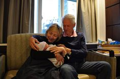 What a joy being with our new grandson, Aidan. So grateful.