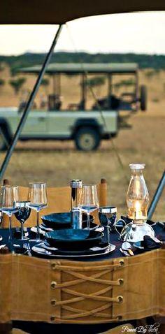 Socialite On Safari ● Tent Decor